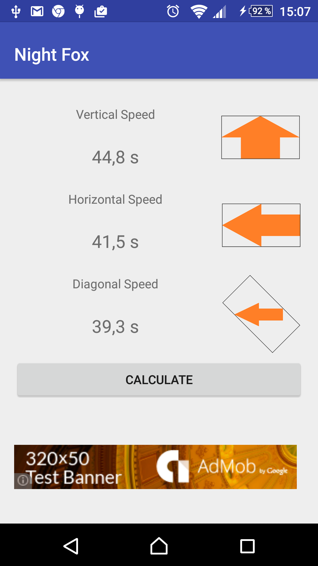 Night Fox – Night Sky Photography Shutter Speed Calculator Android